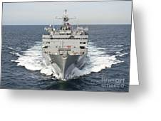 The Military Sealift Command Fast Greeting Card
