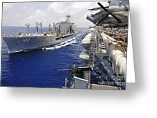 The Military Sealift Command Fleet Greeting Card