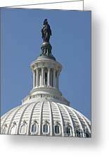 The United States Capitol Building Dome Greeting Card