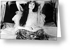 Theda Bara (1885-1955) Greeting Card by Granger