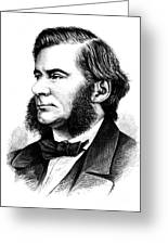 Thomas Huxley, English Biologist Greeting Card