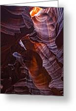 Upper Antelope Canyon, Arizona Greeting Card