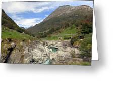 Valle Verzasca - Ticino Greeting Card