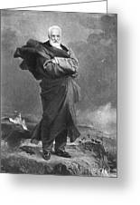Victor Hugo, French Author Greeting Card