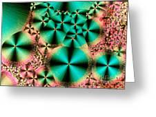 Vitamin B1 Crystal Greeting Card