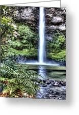 Waterfall  Greeting Card