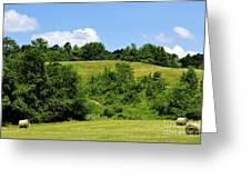 West Virginia Farm Greeting Card