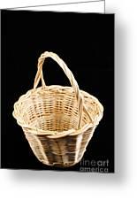 Wicker Basket Greeting Card