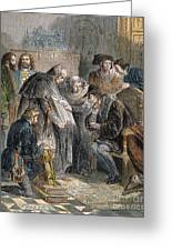 William Tyndale (1492?-1536) Greeting Card
