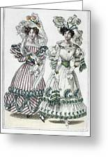 Womens Fashion, 1828 Greeting Card