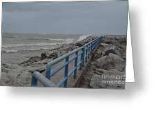 Hurricane Sandy Greeting Card