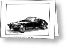 2000 Plymouth Prowler Greeting Card by Jack Pumphrey