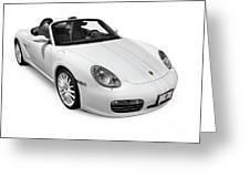 2008 Porsche Boxster S Sports Car Greeting Card