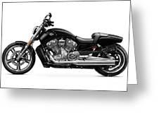 2010 Harley-davidson Vrsc V-rod Muscle Greeting Card