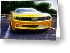 2012 Chevrolet Camaro Rs Greeting Card