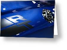 2012 Dodge Challenger Rt Greeting Card
