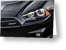 2012 Dodge Charger Srt8 Greeting Card