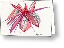 2012 Drawing #4 Greeting Card