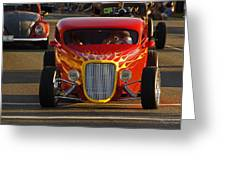 2012 Grants Pass Cruise - Hot Rod Rules Greeting Card