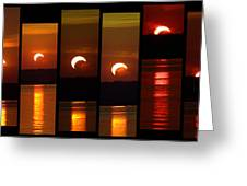 2012 Solar Eclipse Greeting Card by Elizabeth Hart