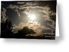 2012 Sunset October 26 Greeting Card