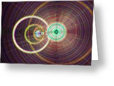 Circle Art Greeting Card
