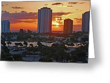 21- Phil Foster Park- Singer Island Greeting Card