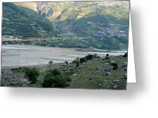 Splendors Of Himalayas Greeting Card