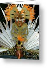 West Indian Day Parade Brooklyn Ny Greeting Card