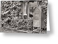 22747 Bw Greeting Card by JC Findley