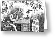 Charles Dickens (1812-1870) Greeting Card
