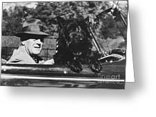 Franklin D. Roosevelt Greeting Card