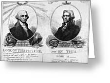 Thomas Jefferson (1743-1826) Greeting Card