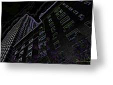 25 Central Park West Greeting Card