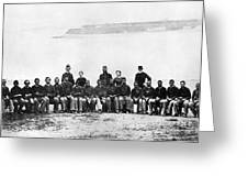 Civil War: Black Troops Greeting Card
