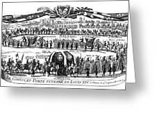 Louis Xiv (1638-1715) Greeting Card