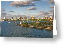 27- Singer Island Skyline Greeting Card