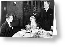Film Still: Eating & Drinking Greeting Card by Granger