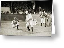 Silent Film Still: Sports Greeting Card