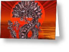 288 Rising Sun Krytose Greeting Card