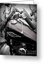 3 - Harley Davidson Series Greeting Card