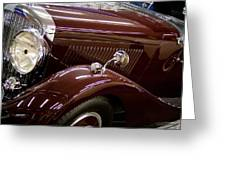 1936 Bentley Greeting Card