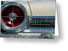 1963 Ford Galaxie Greeting Card