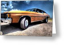 1972 Chevelle Greeting Card