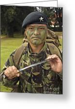 A British Army Gurkha Greeting Card