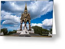 Albert Memorial Greeting Card