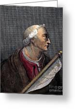 Amerigo Vespucci (1454-1512) Greeting Card