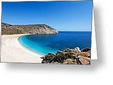Andros Island - Greece Greeting Card