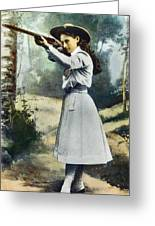 Annie Oakley (1860-1926) Greeting Card