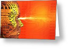 Artificial Intelligence Greeting Card